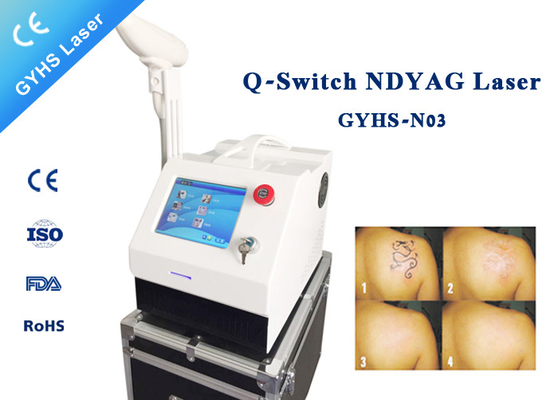 Precision 1064nm 532nm YAG Laser Tattoo Removal Machine Big Power Laser